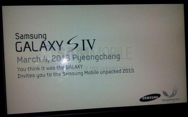 Samsung presentaría el Galaxy S IV el 4 de marzo en Corea 30