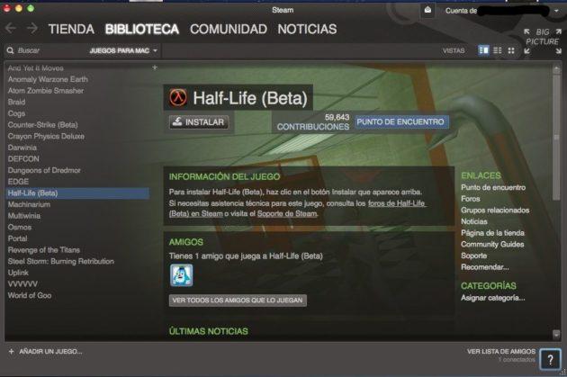 Half-Life para Mac OS X y Linux 31