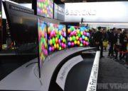LG también presenta la primera TV OLED curvada 30