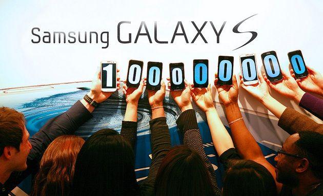 Samsung ha vendido 100 millones de dispositivos Galaxy S en todo el mundo 28