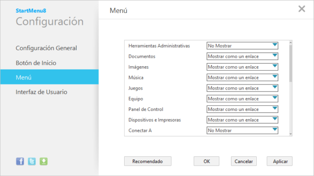 sm8 31 630x354StartMenu8, otro menú de inicio para Windows 8