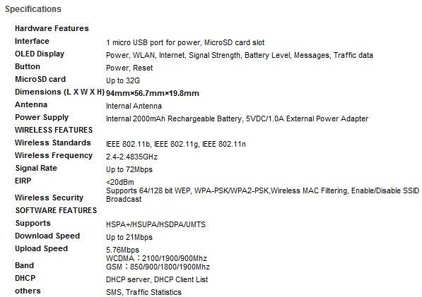 TP-LINK 3G Mobile Wi-Fi M5350, router 3G portátil 29