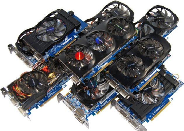 GPUs variadas
