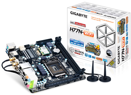 GIGABYTE GA-H77N WiFi: primer vistazo