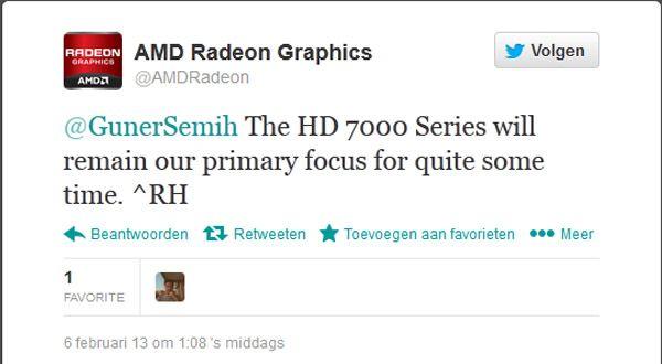 Confirmación del retraso de las HD 8000