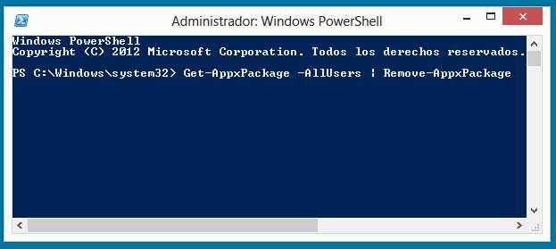 App Modern PowerShell 2 ¿Harto de las app Modern de Windows 8? Acaba con ellas de un solo comando