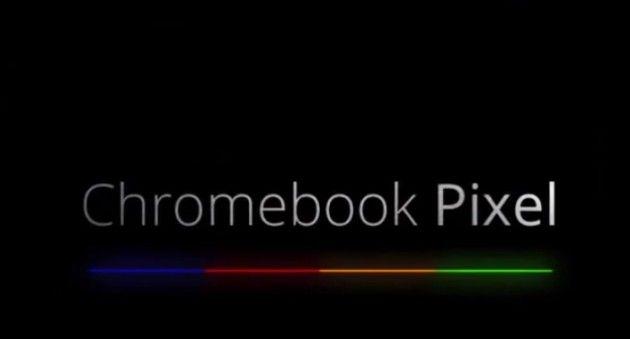 Google ChromeBook Pixel, pantalla táctil 2.560 x 1.700 pixeles 32