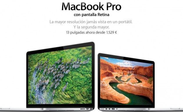 Apple rebaja MacBook Pro Retina Display, nuevos procesadores 29