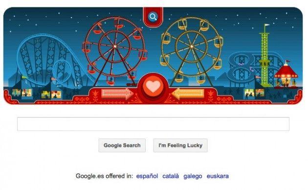 Google nos felicita San Valentín con un Doodle animado