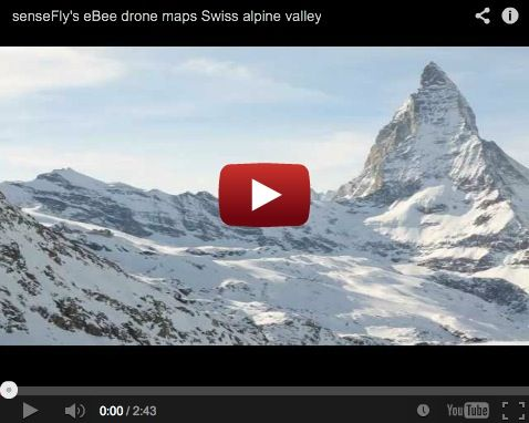 eBee, demo Alpes Suizos SenseFly