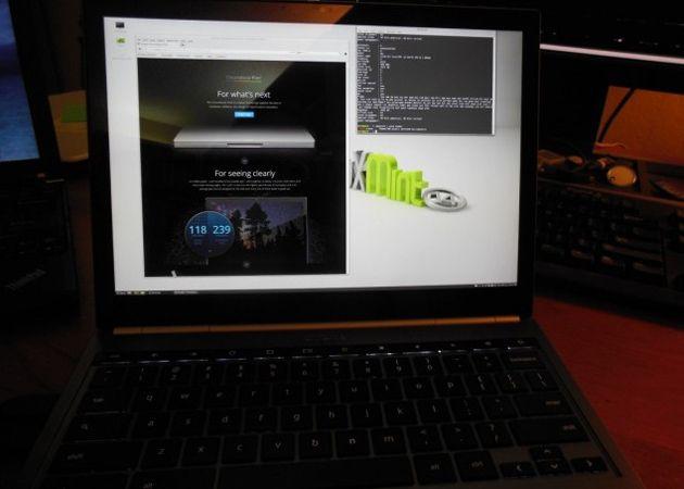 Google promociona otros Linux para el Chromebook Pixel 36