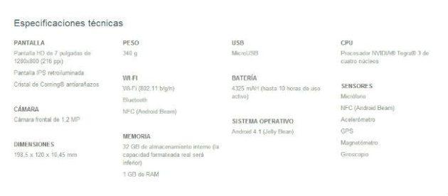 Android 4.2.2 mejora un 25% la autonomía en Nexus 7 28
