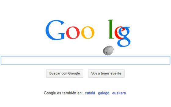 Google aparta su doodle del asteroide 'español' 33