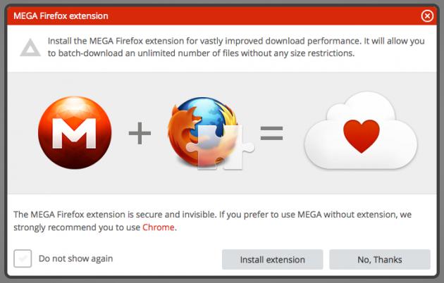 MEGA-Firefox