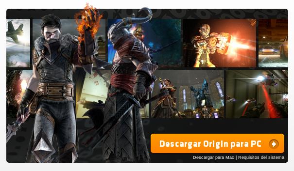La tienda de juegos Origin ya está disponible para Mac OS X