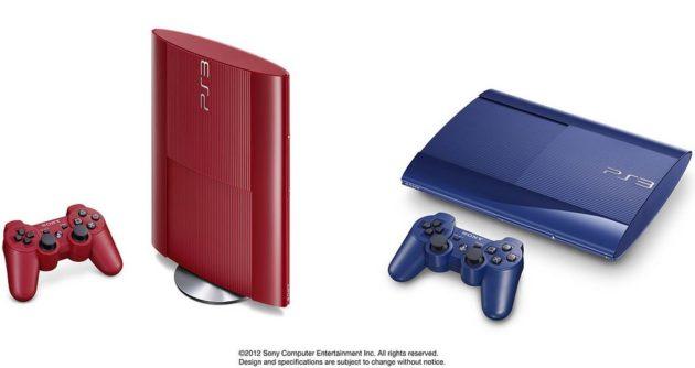 Las PS3 Super Slim roja y azul llegan el 20 de febrero