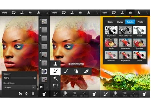 Adobe lanza Photoshop Touch para móviles iOS y Android