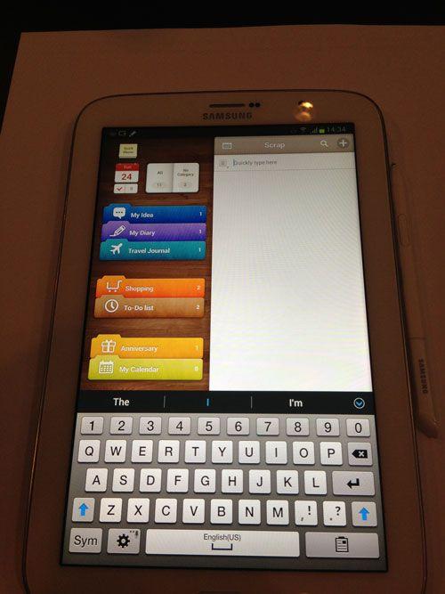 Galaxy Note 8.0 en nuestras manos: imágenes, vídeos, especificaciones 37