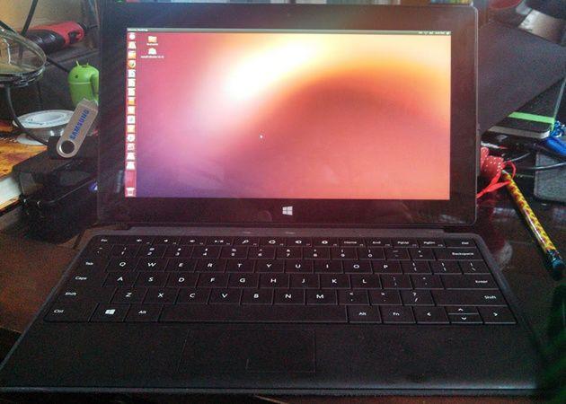 ¿Un buen tablet con Linux? Surface Pro de Microsoft 30
