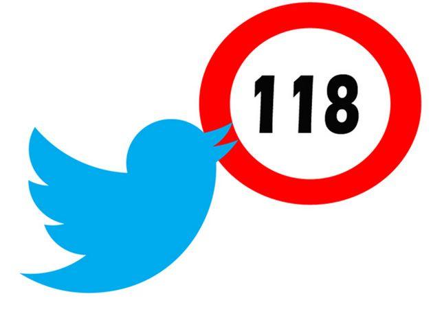 Twitter recorta caracteres en algunos tipos de tweets 36