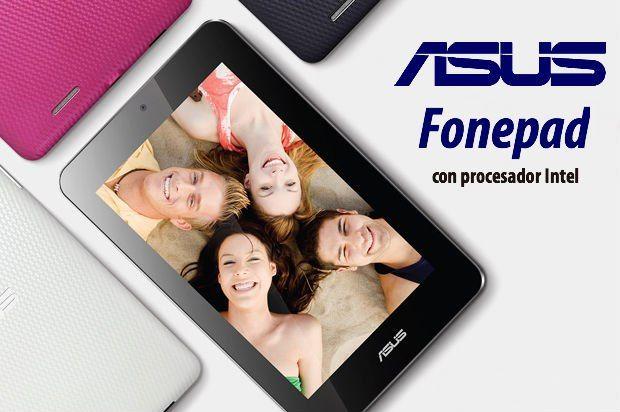 ASUS presenta el tablet FonePad con Intel y Android 29