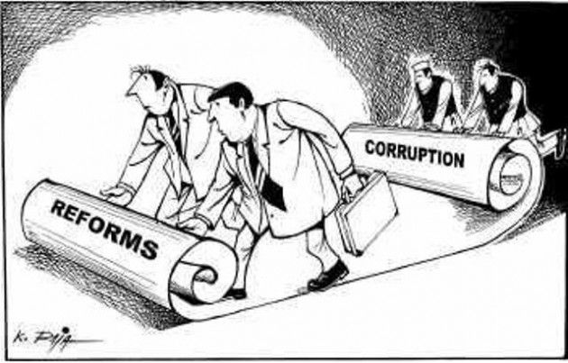 Corrupcion y reformas