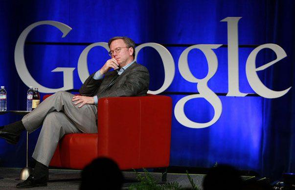 ¿Se va Eric Schmidt de Google?