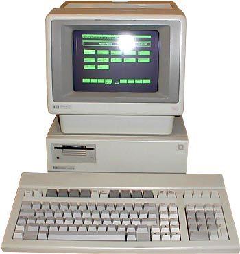 hp150 El PC táctil nació hace 20 años con HP 150