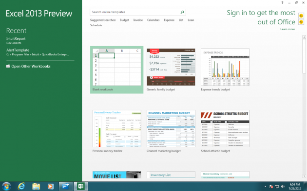 Excel Office 2013