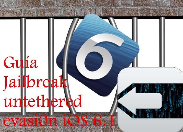 Jailbreak untethered iPhone, iPod touch y iPad en iOS 6 – iOS 6.1
