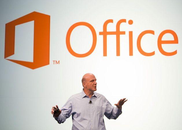 Ballmer hablando de Office 2013