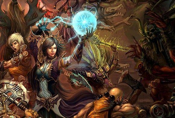 Diferentes clases en Diablo III