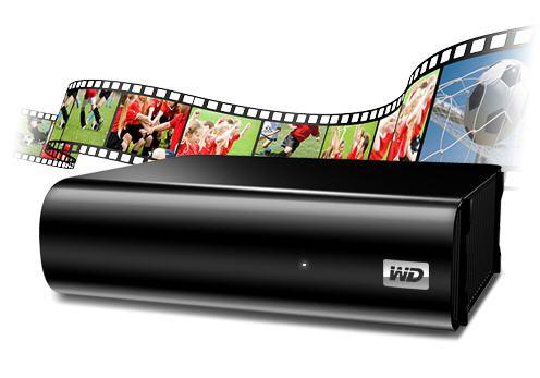 Western Digital MyBook AV-TV, almacena lo mejor de la TV