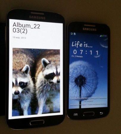 S4 Mini y Galaxy S4