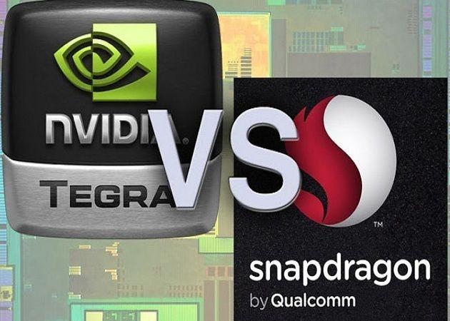 Snapdragon vs tegra