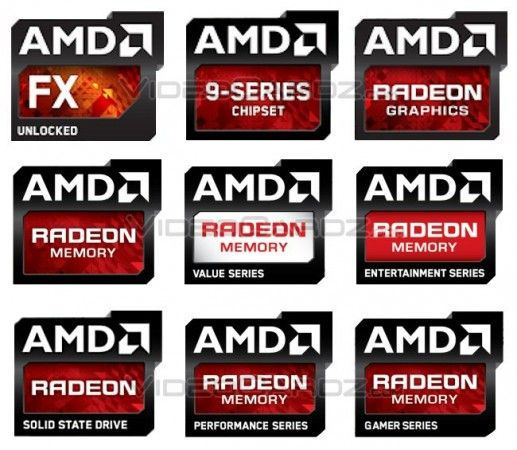 Logos AMD 2013 2