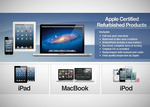 Apple ya ofrece versiones refurbished de sus nuevos iPad