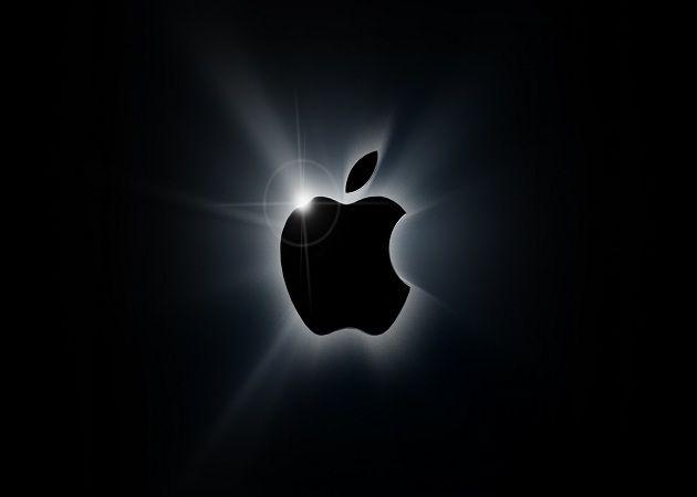 Negro logo Apple