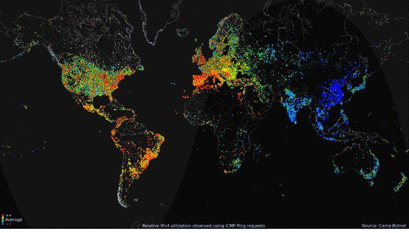 Investigador hackea 420.000 dispositivos para crear el mayor mapa de Internet de la historia 30