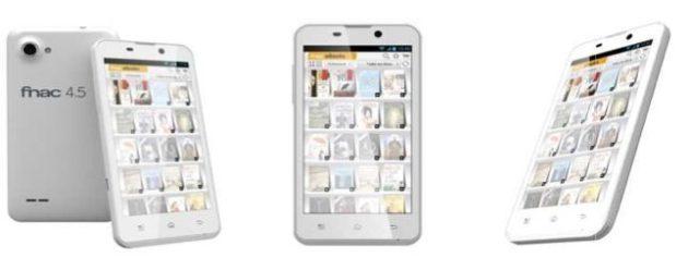FNAC Phablet 4.5, smartphone de grandes dimensiones y precio contenido 29