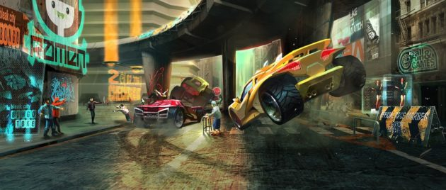 Nuevo Carmageddon colisión