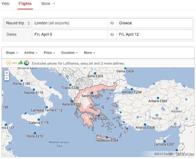 Google Flights Search llega a España 29