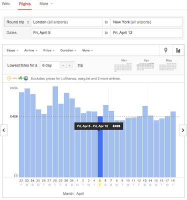 Google Flights Search llega a España 30