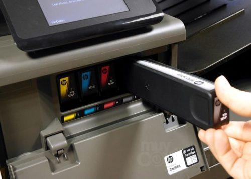 HP Officejet Pro X576dw 07 500x357 HP Officejet Pro X576dw MFP