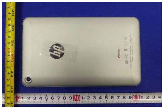Tablet HP Slate 7, al desnudo tras su paso por el FCC 32