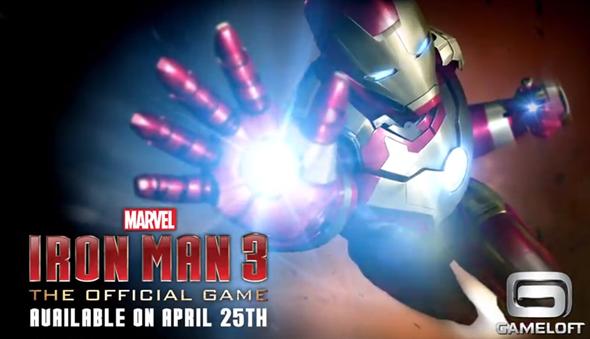 Primer tráiler del juego Iron Man 3 para iOS / Android 31