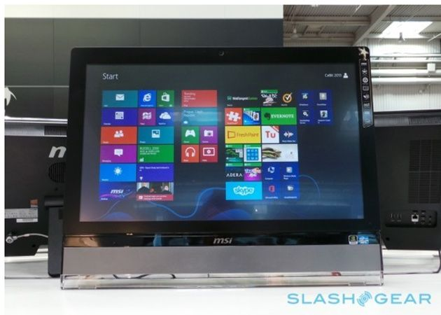 MSI presenta AIO de 27 pulgadas con Windows 8 para juegos 29