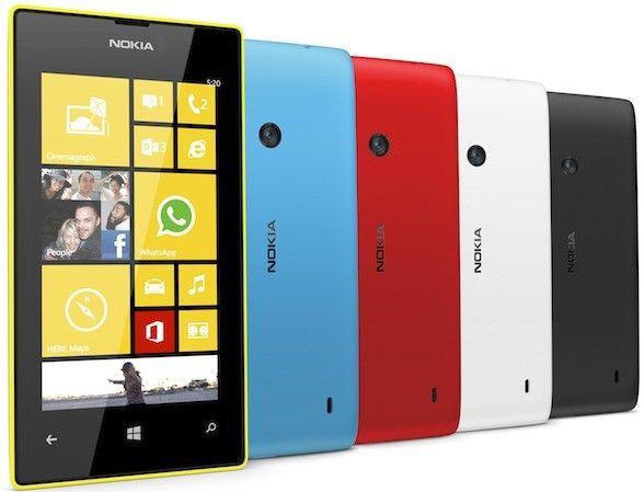 Nokia Lumia 720 y Lumia 520, a la venta 29