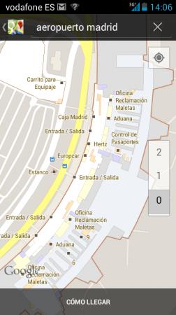 Llegan los mapas de interiores en Google Maps a España 28