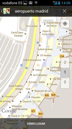 Llegan los mapas de interiores en Google Maps a España 29